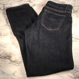 Gap 1969 Real Straight Dark Wash Jeans size 14